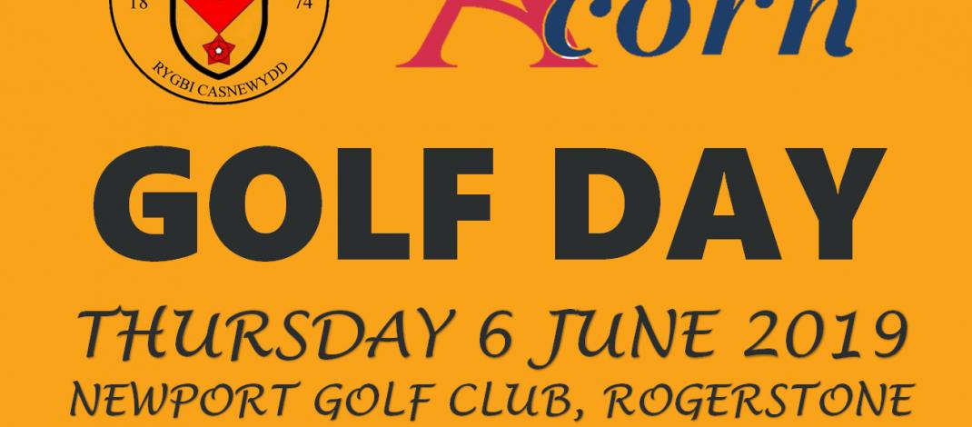 Newport RFC (Acorn) Golf Day – Thurs 6th June