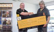 FoNR make huge donation to club funds