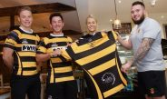 Cake, coffee, rugby……Our Cwtch HEAVEN!!