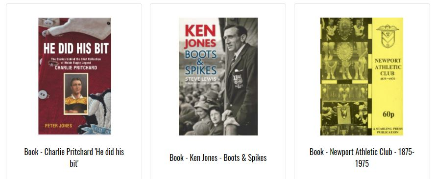Newport RFC books for sale