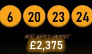 Steadily the lottery pot grows